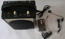 Portable wireless loudspeaker for tour guide /Portable wireless amplifier for teaching/Portable wire & wireless PA amplifier