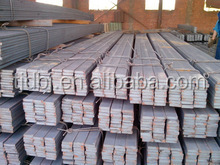 promotional hot rolled steel square bar steel billets price and size