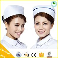 Cheap asian style hospital uniforms nurse hats,nurses uniform and caps,nurses caps for sale