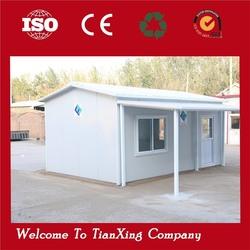 Standard living cheap prefab house siding