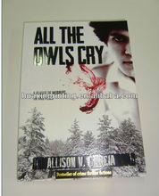 thriller crime story printing for owls