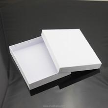 Plain white paper box , matte lamination one color paper box for iphone 6 case