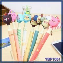 Alta calidad productos de papelería lista marcas de bolígrafo panda animal ball pen