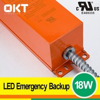 Lasts 90 minutes Ni-cd battery 18w 25w ul led emerg power pack for led products