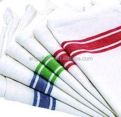 Kitchen dish towel with vintage design for kitchen decoration super absorbent 100% natural cotton kitchen towel