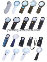 2014 Promotion gifts pocket led magnifier/acrylic lens/magnifier usb pen drives