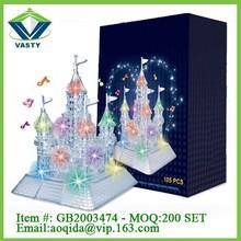 flash castle 3d crystal puzzle 3d puzzle