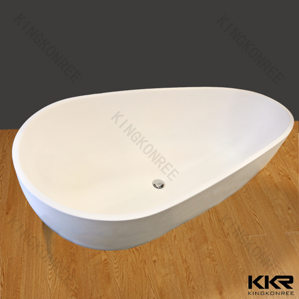 Egg Shaped Free Standing Bath Tub European Style Bathtub