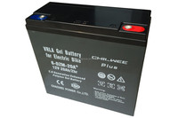 Large Power VRLA Gel battery for electric scooters, 12V 20Ah