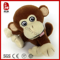 10 cm small plush monkey toy