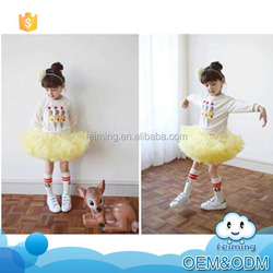Best selling products childrens boutique clothing fall 2015 dance dress wholesale fashion children skirt suit