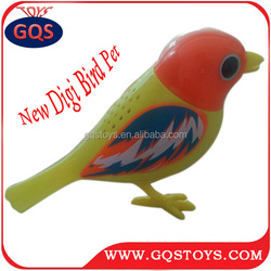 New product digbird electric singing bird toy