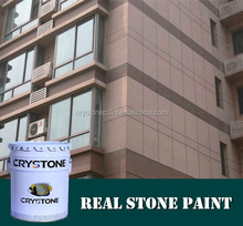 NO 1 exterior wall coating super natural spray application granite stone effect paint protection film for wall
