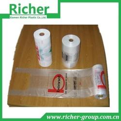 HDPE PLASTIC CARRY BAG ON ROLLTRANSPARENT