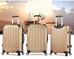 China Supplier high quality luggage PC ABS hard case luggage strong construction travel luggage