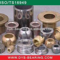 produce customized Oilite Bearing fan bush bearing Powder Sintered Bushing/Sintered Bronze Bearing Bush for all kinds machine