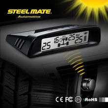 2015 SteelmateTP-S1 solar power tpms pressure gauge valve cap, automobile, car tire gauge