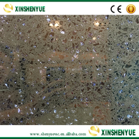 Cheap China Polished Purple Quartz Stone Kitchen Countertops