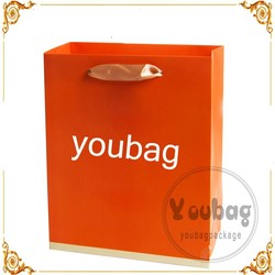 Sales Promotion Beautiful Large Printed Paper Bag/Shopping Paper Bag