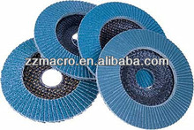 best quality grit 60# 80# 4inch fiberglass backing flap disc for paint remove for angle grinder machine low price
