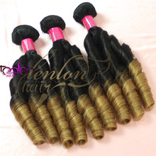 hot sell natural color 5A+ quality wholesale malaysian colored two tone hair weave