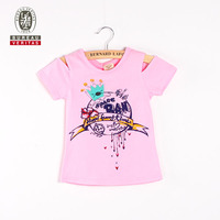 Baby clothes summer 2013 boy crown pattern short sleeve kids embroidered t shirts