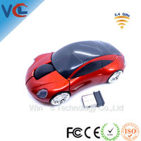 VMW-14 Computer PC wireless mouse car for Promotional Giveaways
