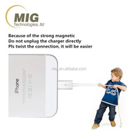 Super strong magnetic cable/ magnetic usb adaptor for iphone 6 6s plus /5/5c/5s, magnetic micro usb cable for ipad air/ mini