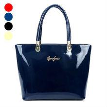Patent Leather Handbag Shinny Leather Handbag Trend Leather Handbag
