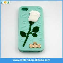 rose wholesale alibaba phone case for iphone6 cases silicone rubber case