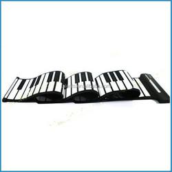 88 keys digital roll up piano,midi USB flexible keyboard,electronic roll-up piano