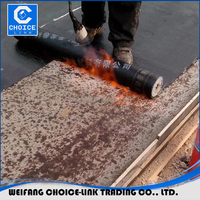 Cheap waterproof membrane Sand Bitumen Roofing Felt