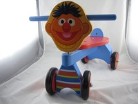 wooden animal ride on car toy for kids