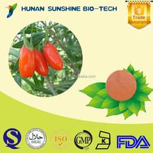 Herbal Medicine Extract Goji Powder / Lycium Chinense Strengthen Liver & Kidney & Improve Eyesight