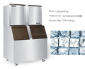 máquina de hielo, máquina para hacer hielo ULB1950Ta 900 kg / 24h