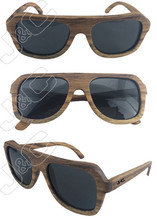 2015 best selling and fashionable best selling bamboo sunglasses with polarized lens and bamboo whosales case
