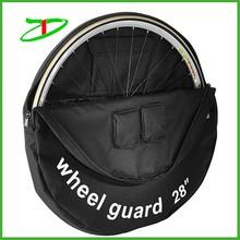 Heavy duty padded bike wheel bag, car bicycle wheel guard bag Quanzhou factory