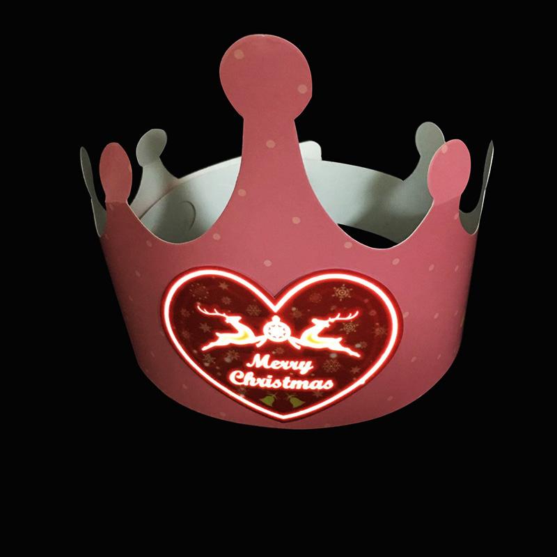 Regalar princesa LED cumpleaños CAP para <span class=keywords><strong>la</strong></span> promoción