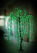 Holiday decoration high power led willow tree light garden led light for wedding party