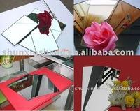 1.3mm-6mm aluminium mirror glass and window accessory