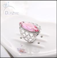Hot sale pink gemstone ring & Stock ring