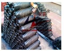 Weared standard best selling standard belt conveyor rubber roller