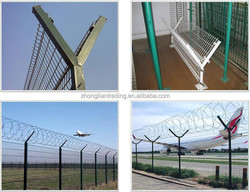 PVC Coated Fence Post Powder Coated Fence Post