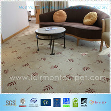woven wool axminster hotel carpet, commercial room carpet, wall to wall carpet