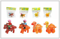 hot sellling ABS wind up plastic camel toy with ASTM EN71
