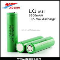 Alibaba China Authentic LG 18650 MJ1 3500mAh 18650 battery 3.7V li-ion rechargeable battery segway self balancing LG MJ1