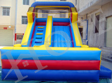 commercial grade double sided inflatable water slide