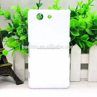 New arrive 3D sublimation cell phone case for sony Z4 MINI