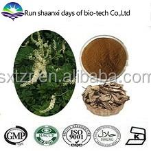 Natural Black Cohosh Powder Extract Powder 2.5% Triterpenoid