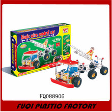 Diy Alloy Truck Puzzle Game